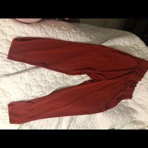 Zara elastic waist pants comfy